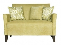 Lotus Green Microfiber Loveseat