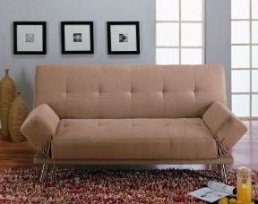 Microfiber Sofa Bed - Click to See Low Sale Price