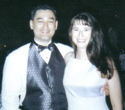 My Husband and I in 2000