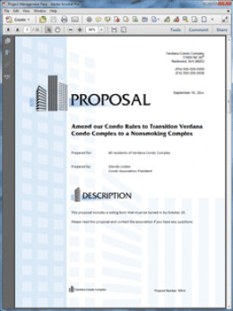 sample lease proposal template .
