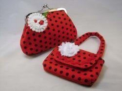 Ladybug purse set