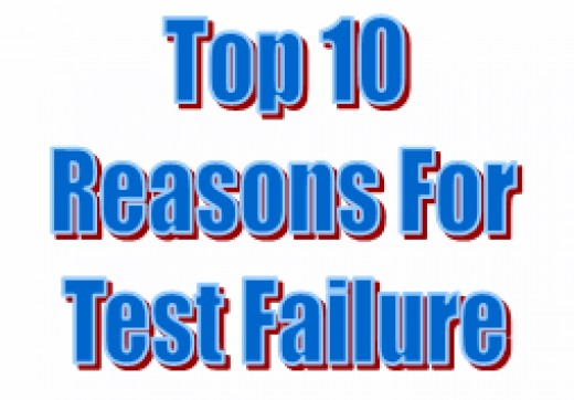 Reasons why you might fail your driving test