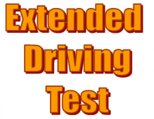 If you pass your driving test but get disqualified from driving you may have to take an extended driving test if you want to get your driving licence back