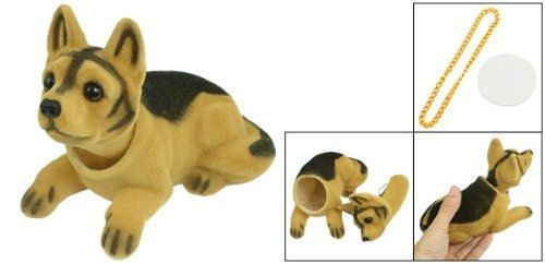 A look inside a nodding dog!