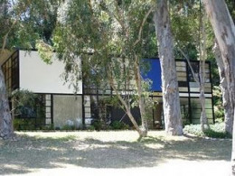 The Eames House, photo borrowed from Kathy A. McDonald's Blog