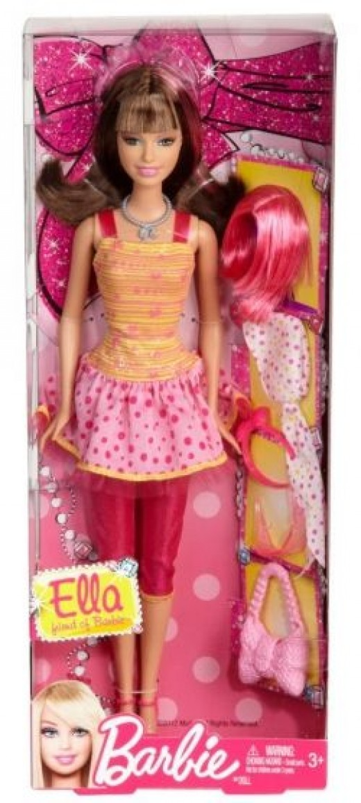 beautiful bald barbie doll