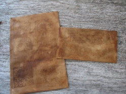 Paper Staining Tutorial