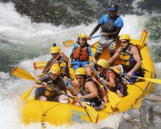 rafting south fork of american river