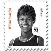 wilma rudolph stamp