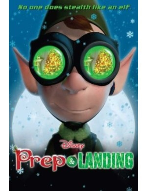 Disney Prep and Landing DVD Poster