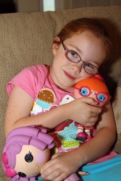 Little Girls Love Lalaloopsy!