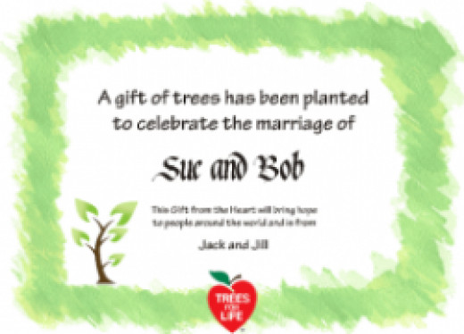 plant trees in india - donate trees certificate
