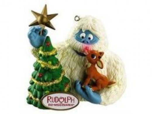 rudolph bumble ornament