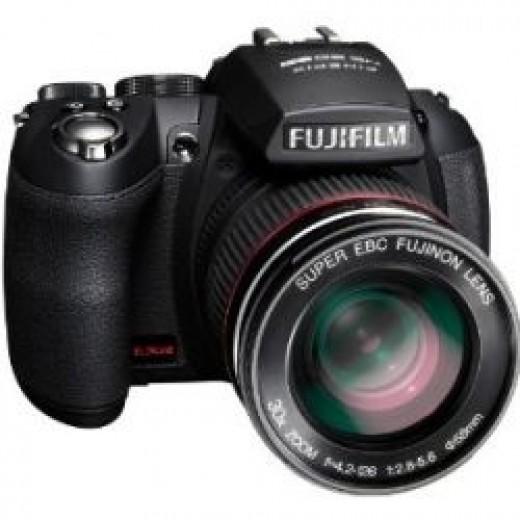 super zoom compact cameras - Fujifilm FinePix HS20