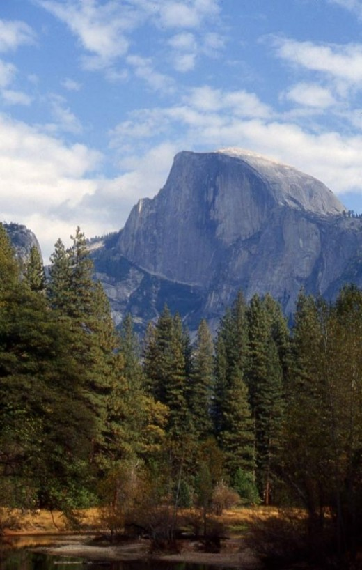 Half Dome is one of Yosemite National Park's most stunning natural attractions.