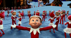 elf on the shelf - an elf's story