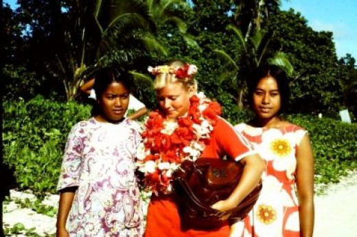 One of the Sweetest and Most Charming Customs in Palau--Leis for Every Occasion!