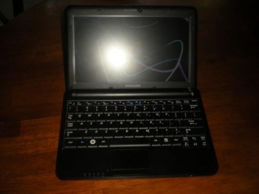 My Samsung n130 netbook.