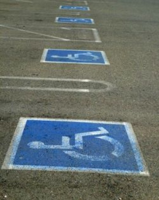 how many disabled parking spaces