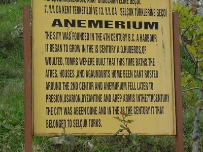 I Absolutely Love This Sign at Anamurium.  You've Got to Read It!