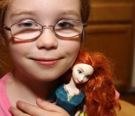 Little Girls Love Princess Merida