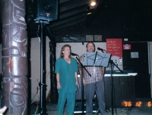 Singing with My Brother, Sandy Simpson, at Christmas Time in Guam Years Ago