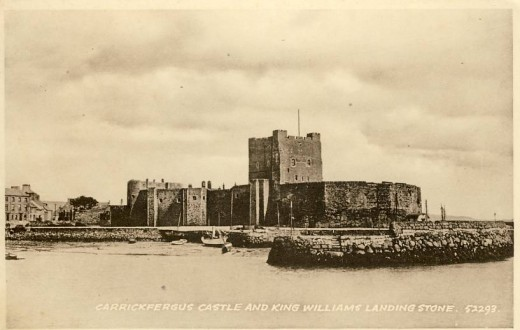 The Castle and King Billy's landing