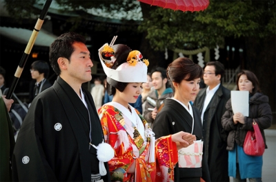 A Traditional Japanese (Shinto) Wedding Ceremony