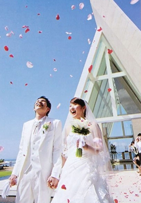 A Modern or Western Style Japanese Wedding