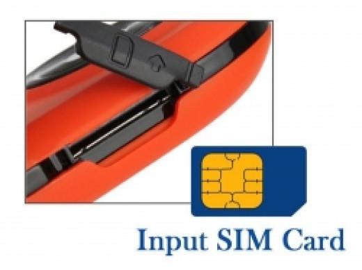 Gmate's SIM card slot