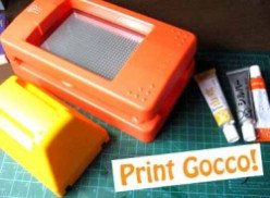 DIY-printing with a Gocco