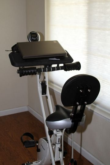 FitDesk Helps You Work Out While You Work -- And It Folds, Too!