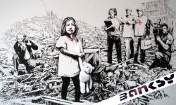 Media Coverage From Street Artist Banksy