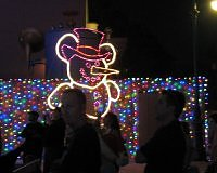 Hidden Mickeys at the Spectacle of Lights
