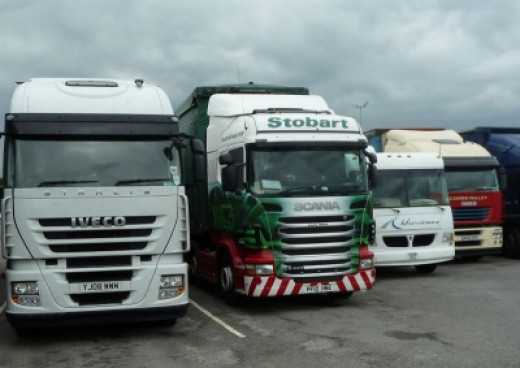 Eddie Stobart Truck Bagged at Chieveley M4 -  Laura Helen
