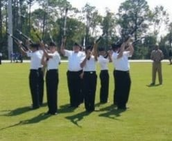 Military Drill Team Training