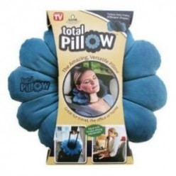 A resting pillow that twists into any shape.
