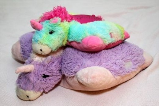 My Pillow Pets Are Larger Than Dream Lites - But Both Are Fun!