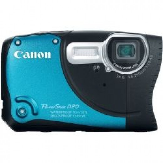best travel camera 2013 - canon powershot d20