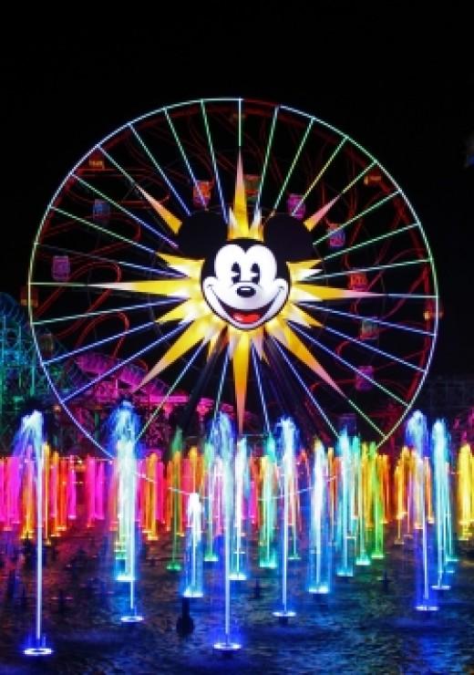 Disney California Adventure World of Color