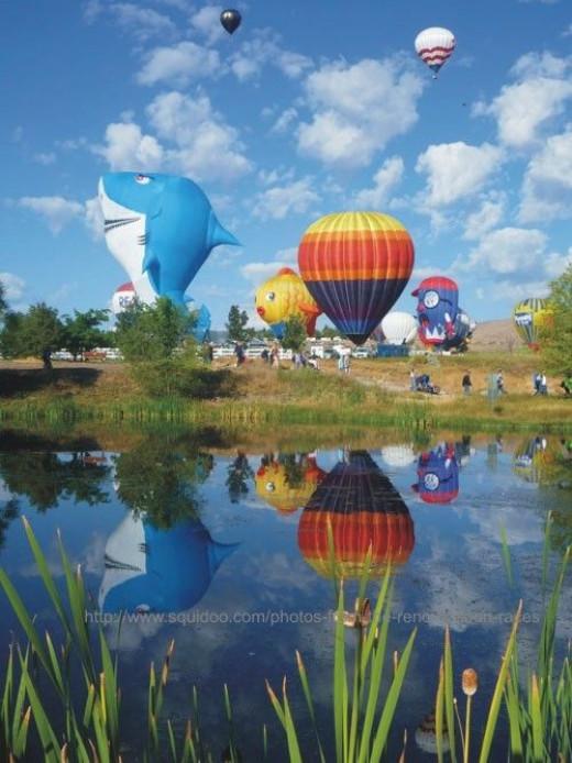 reno hot air balloon photos