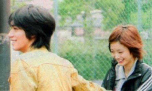 "Ryo Nishikido with Aya Ueto in ""Attention Please"" (2006)"