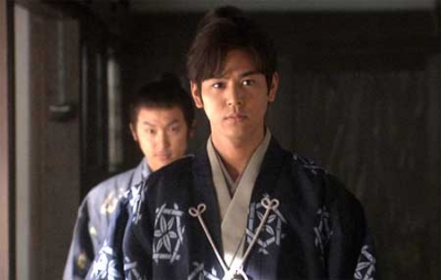 "Tsumabuki in the 2009 NHK TV series ""Tenchijin"""