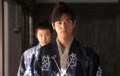 "Tsumabuki in the 2009 NHK TV series ""Tenchijin"""