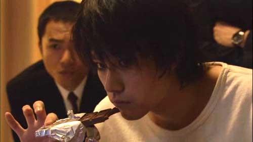 L (or Ryuzaki), the oddball but brilliant detective.