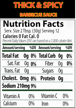 Walden Farms BBQ Sauce - Save 70 calories per tablespoon