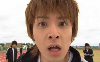 """Ikuta Toma as """"Shuichi Nakatsu"""" in Hanazakari no Kimitachi e (2007)"""
