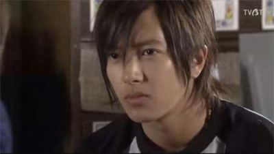 """Tomohisa Yamashita as """"Akira Kusano"""" in Nobuta wo Produce (2005)"""