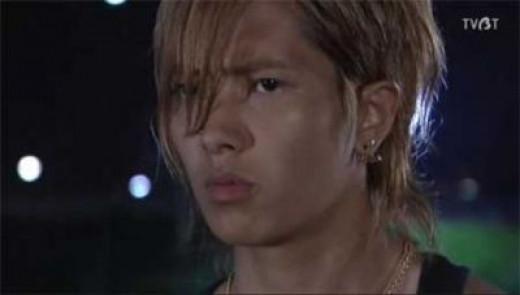 Yamapi as Yajima Yusuke in the Japanese drama Dragon Zakura (2005)