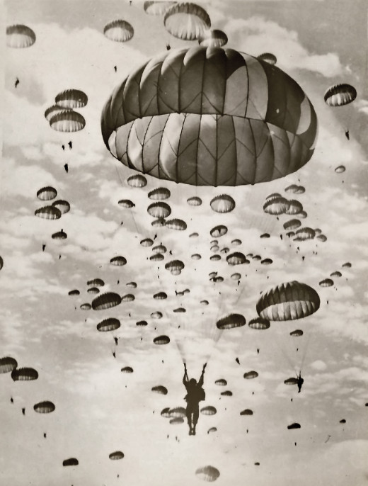 Training photos of the 82nd Airborne in Ft Benning
